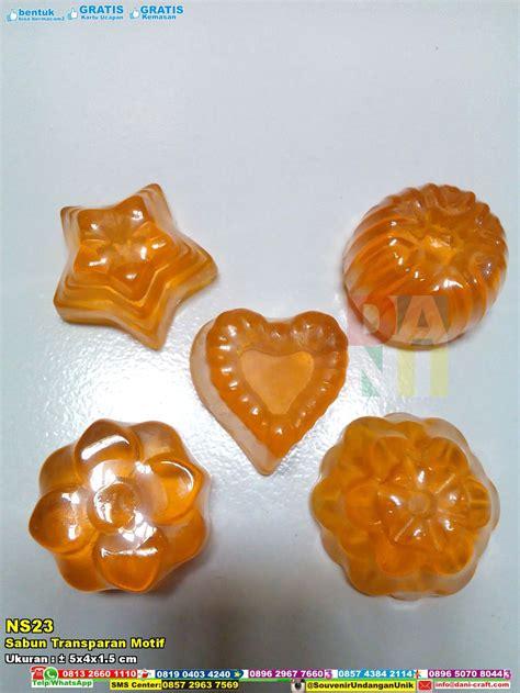 Sabun Transparan sabun transparan motif souvenir pernikahan