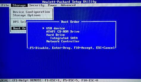bios boot menu pc notebook