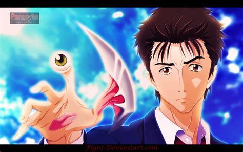 wallpaper anime parasyte parasyte the maxim shinichi by ftg07 on deviantart