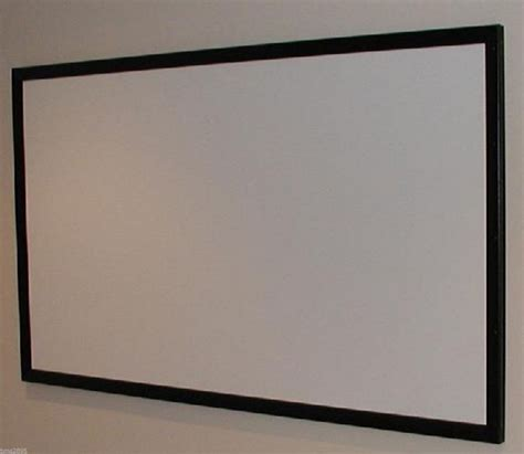 diy projection screen frame 100 quot projector screen projection screen material diy