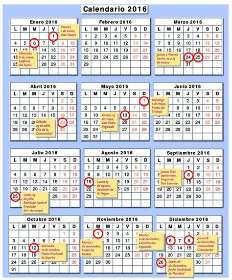 Semanas 2016 Calendario Calendario Por Semanas 2016 Calendar Template 2016