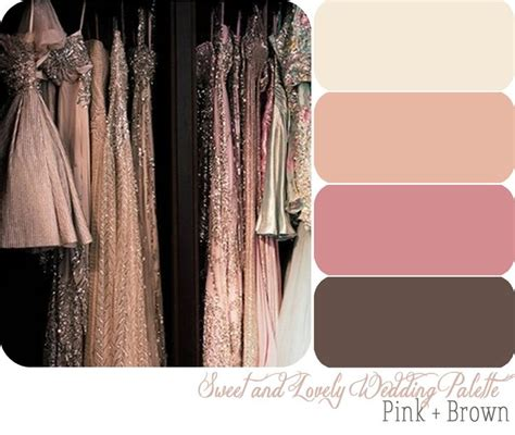 pink and brown color scheme best 25 brown color palettes ideas on brown