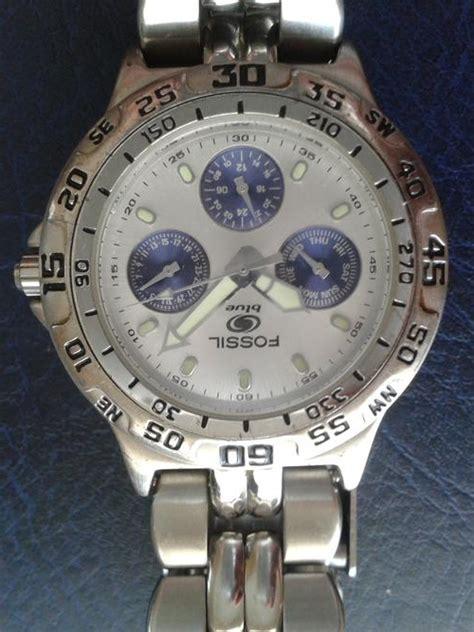 Men S Watches Classic Fossil Blue Series Watch Bq 9022