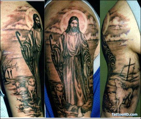 jesus arm tattoo designs jesus tattoos and designs page 50
