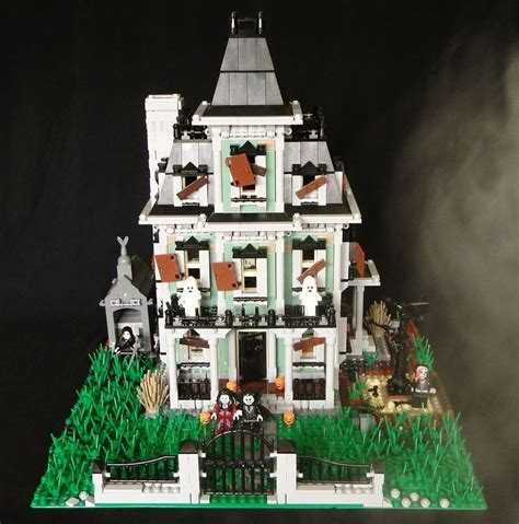 Lego 10228 Huanted House haunted house mod 10228 лего haunted houses and house