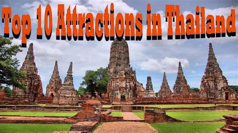 top  attractions  thailand  hd youtube