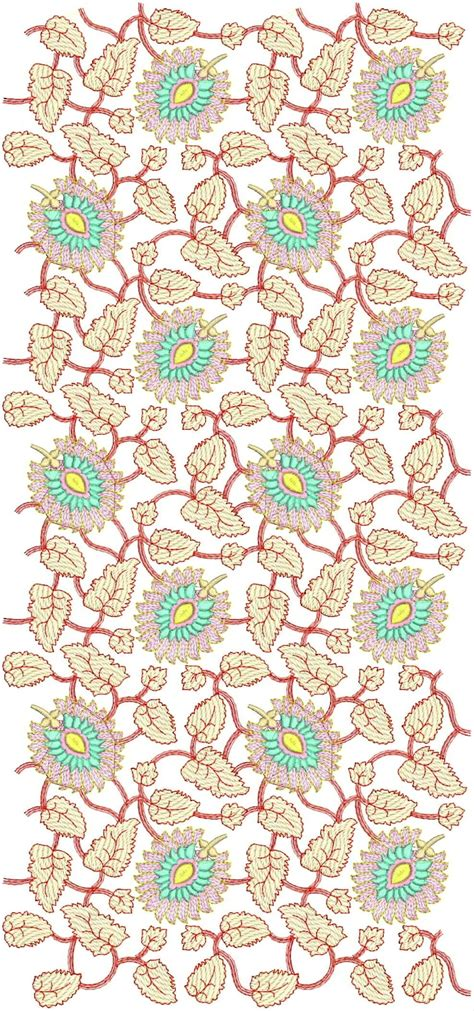 embroidered allover design embdesigntube all over jall embroidery design download