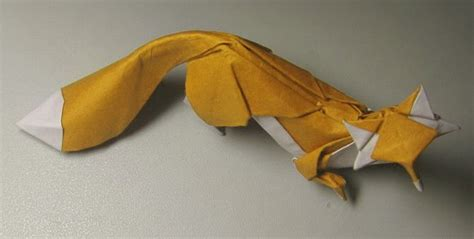 Realistic Origami - fox htquyet