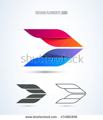 design elements plane airplane logo stock images royalty free images vectors