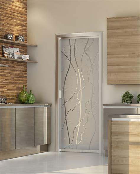 porte scorrevoli a vetro per interni pareti in vetrocemento con porta glass la porta