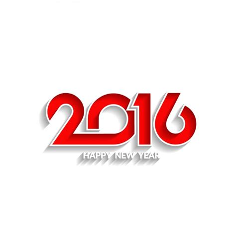 new year 2016 white background 2016 vectors photos and psd files free