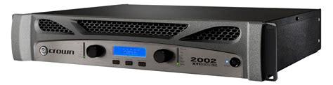 Crown Xti 2002 Power Lifier crown xti 2002 pro power lifier