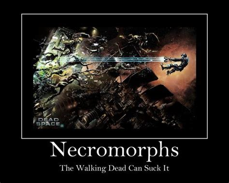 crenomorphs fan art from dead space necromorph meme by