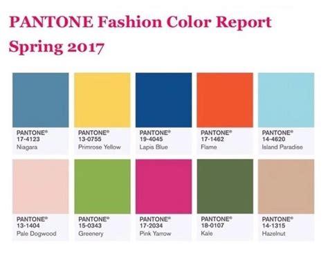 top 10 colors 2017 top 10 colores de moda primavera verano 2017 estilo ennia