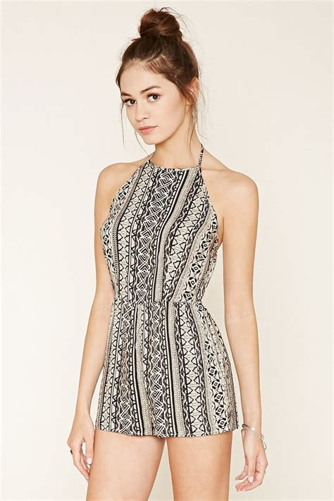 Lucretinna Abstract Casual Jumpsuit 25 best forever 21 dresses ideas on hoco dresses semi dresses and dresses