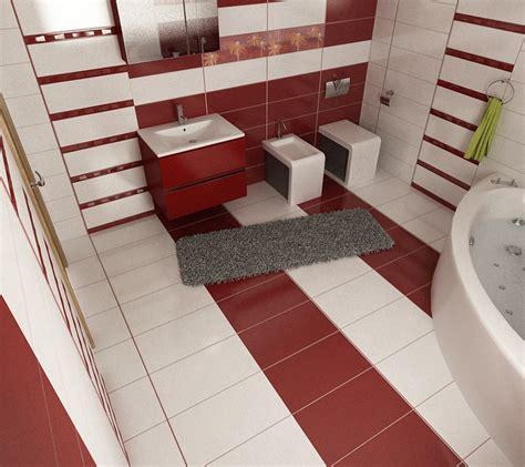 rote fliesen badezimmer bilder 3d interieur badezimmer rot wei 223 baie ral arnisal 1