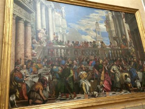Wedding At Cana Painting In The Louvre by Veronese Wedding Feast At Cana Picture Of Louvre