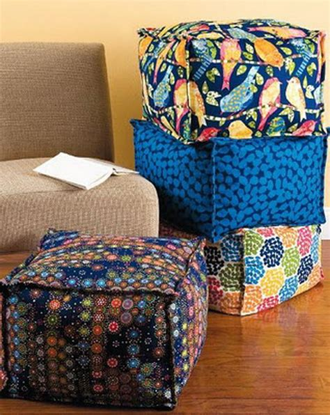 ottoman fabric ideas 15 creative ottoman ideas hative