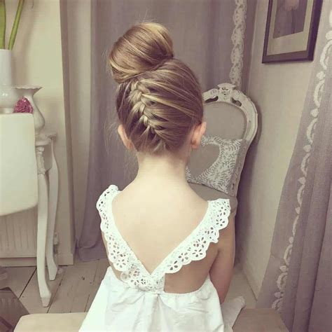 wedding hairstyles for little girls best photos   Page 2