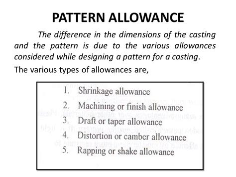 pattern and casting difference manufacturing technology i me6302 ppt video online