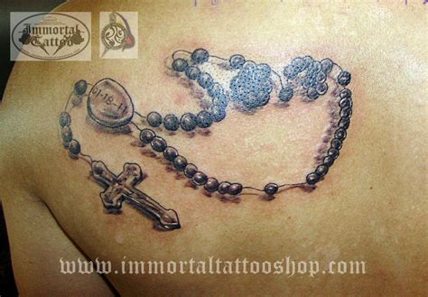 3d rosary tattoo 3d religious tattoos