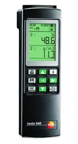 speed of sound testo testo 645 2 channel thermo hygrometer datalogger testo