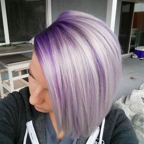 purple hair middle age women here s what you need to know about quot color melting quot your hair