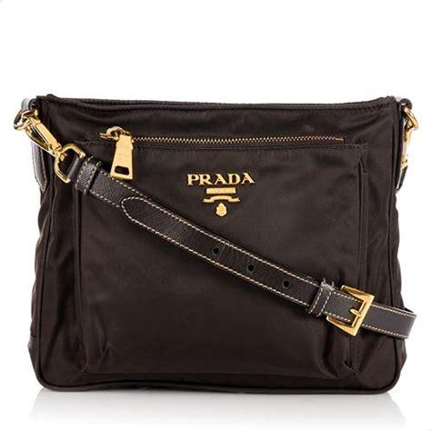 Prada Cross Bag by Prada Tessuto Saffiano Crossbody Bag