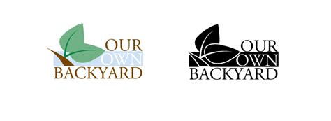 our own backyard our own backyard logo by reekred on deviantart