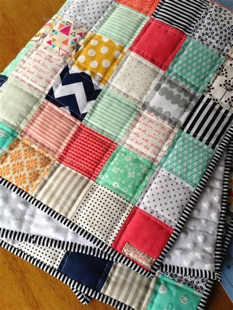 Diy Patchwork Quilt - 23 diy simple gifts for your babies diy to make