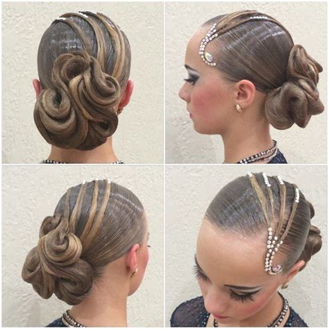 diy hairstyles for dance 701 best images about dancesport hair on pinterest