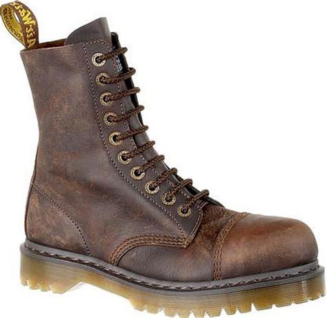 dr martens work boot 8761 brown