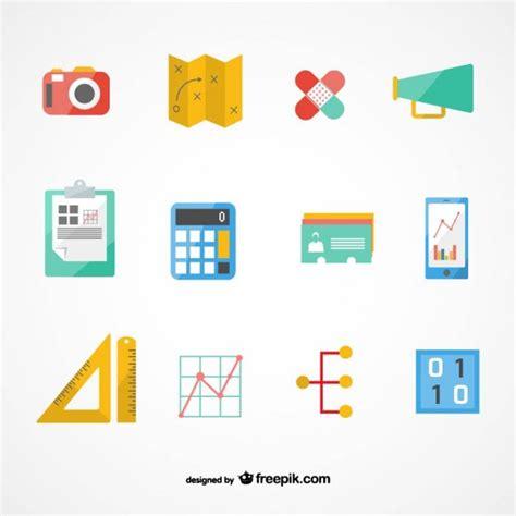 vector plan blue print flat design stock vector business plan icons set vector free download