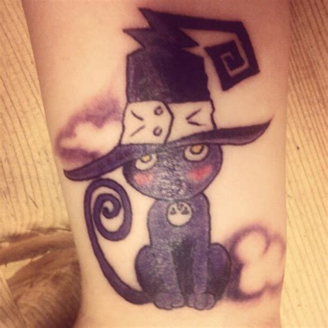 soul eater tattoo my blair cat soul eater tattoos