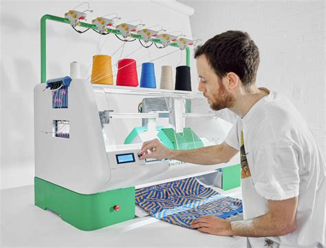 My Own Fashionable Machine by Kniterate Is A Digital Knitting Machine That Lets You