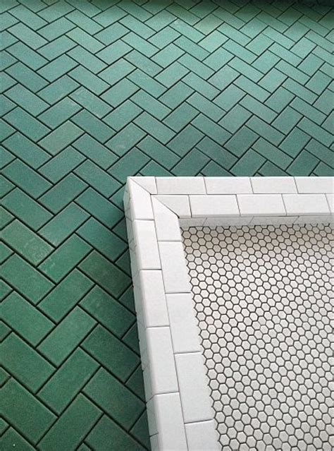 ideas  green tiles  pinterest turquoise