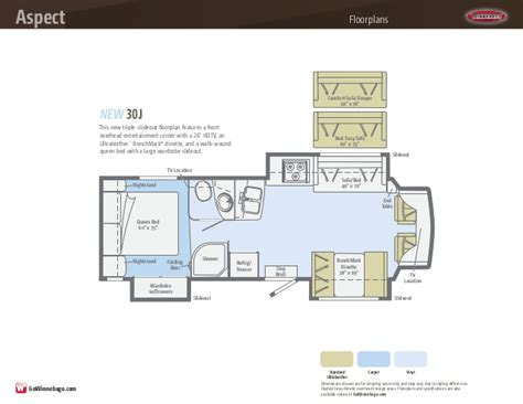 winnebago floor plans class c winnebago class c motorhome floor plans gurus floor