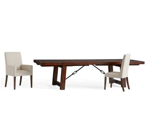 benchwright extending table grayson chair 7 dining
