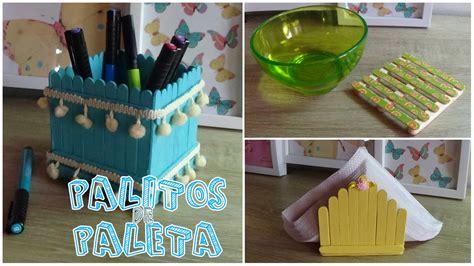 manualidades con paletas manualidades con palitos de paleta candy bu youtube