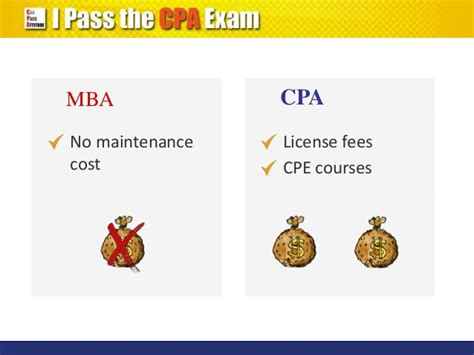 Cpa Credits For Mba by Cpa Qualification Vs Mba Degree Which Is Better
