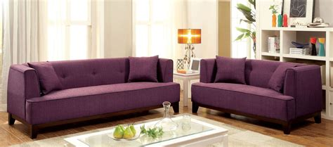 purple living room set sofia purple living room set cm6761pr sf pk furniture of