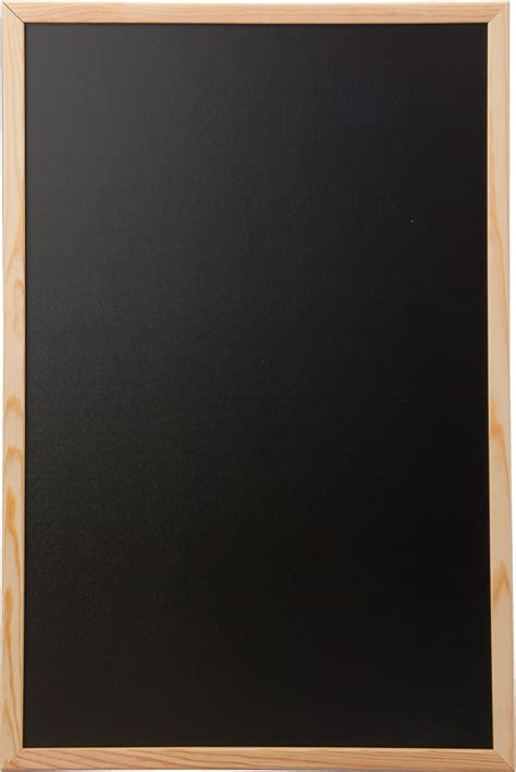 budget framed blackboard