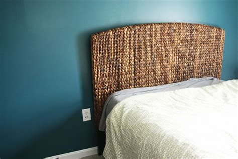 seagrass twin headboard natural seagrass headboard interior exterior homie