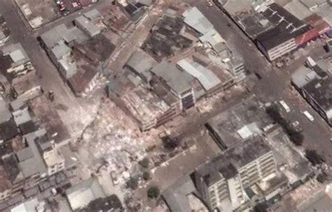 imagenes google earth terremoto chile google earth empieza a actualizar im 225 genes de las zonas