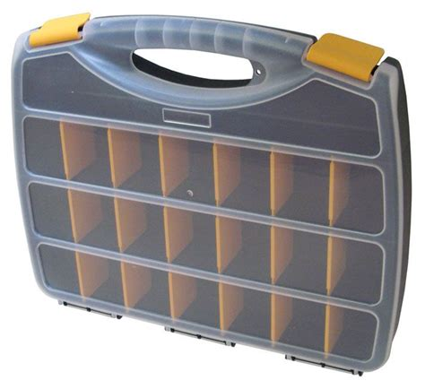 Section Container by 23 Section Plastic Storage Box All Electronics Corp