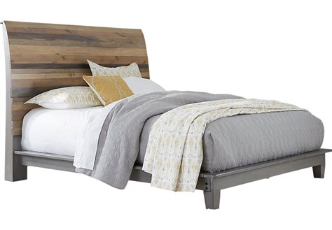 gray sleigh bed moss creek gray 3 pc king sleigh bed king beds colors