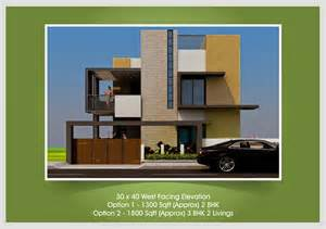 Building Elevation In 12 X40 Upcoming Residential Villas Beml Mysore One