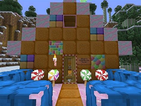 the candy house candy house minecraft project