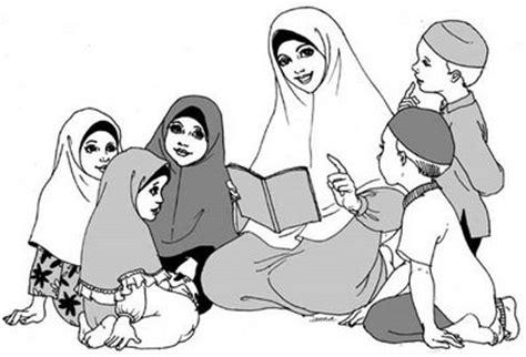 gambar kartun muslimah ibu dan anak apps directories