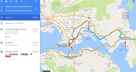 location  holiday inn express kowloon east map